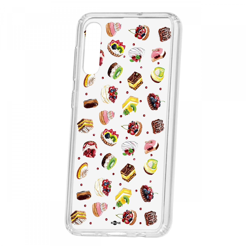 Чехол Kruche Samsung Galaxy A50 2019 Print Cake КRUЧЕ