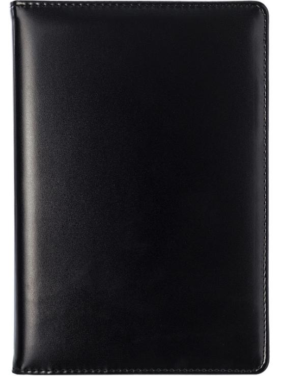 Ежедневник BUSINESS, датиров., 2020, ф.А5, кожзам, сменный блок, лин.,336с., черный