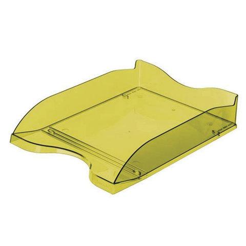 Лоток для бумаг СТАММ ЛЮКС, горизонтальный, тонированный