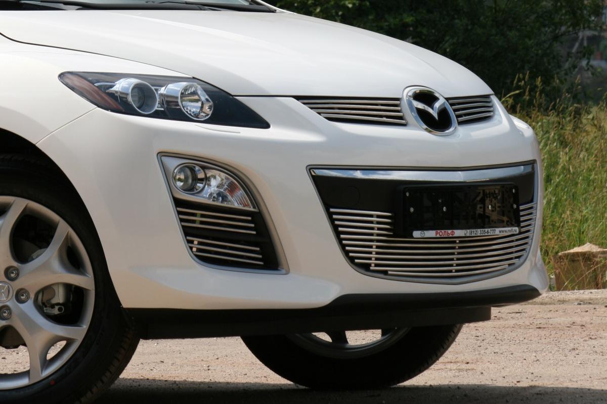 Декоративные элементы противотуманных фар  d10, Mazda