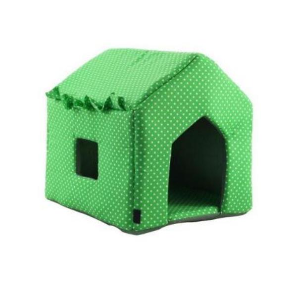 Домик для кошек и собак Gamma Дом Избушка, в ассортименте, 43x38x40см фото