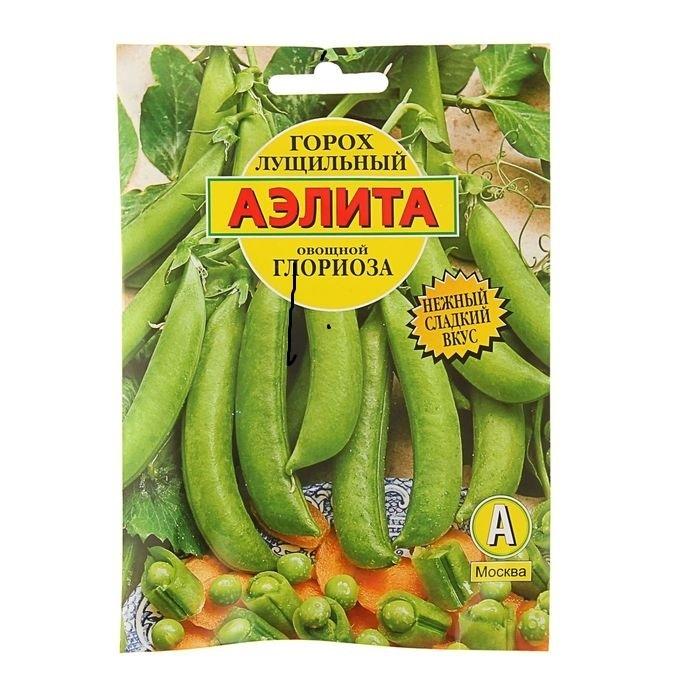 Семена овощей Аэлита Горох овощной лущильный Глориоза