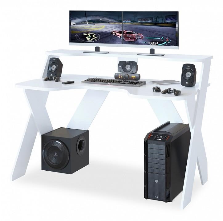 Компьютерный стол СОКОЛ КСТ 117 140x80x96,3, белый