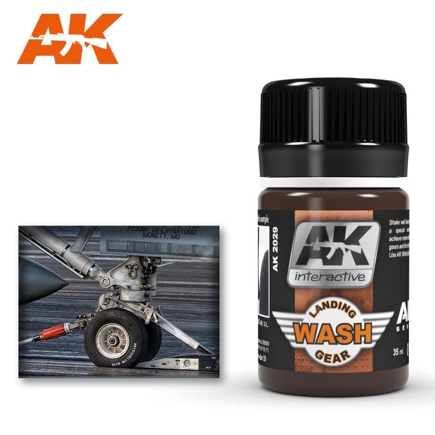 Купить Смывка для шасси AK Interactive AK-2029,