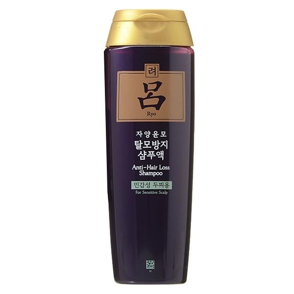 Купить Шампунь против выпадения для жирных волос Ryo Jayangyunmo Anti-hair Loss Shampoo 180 мл