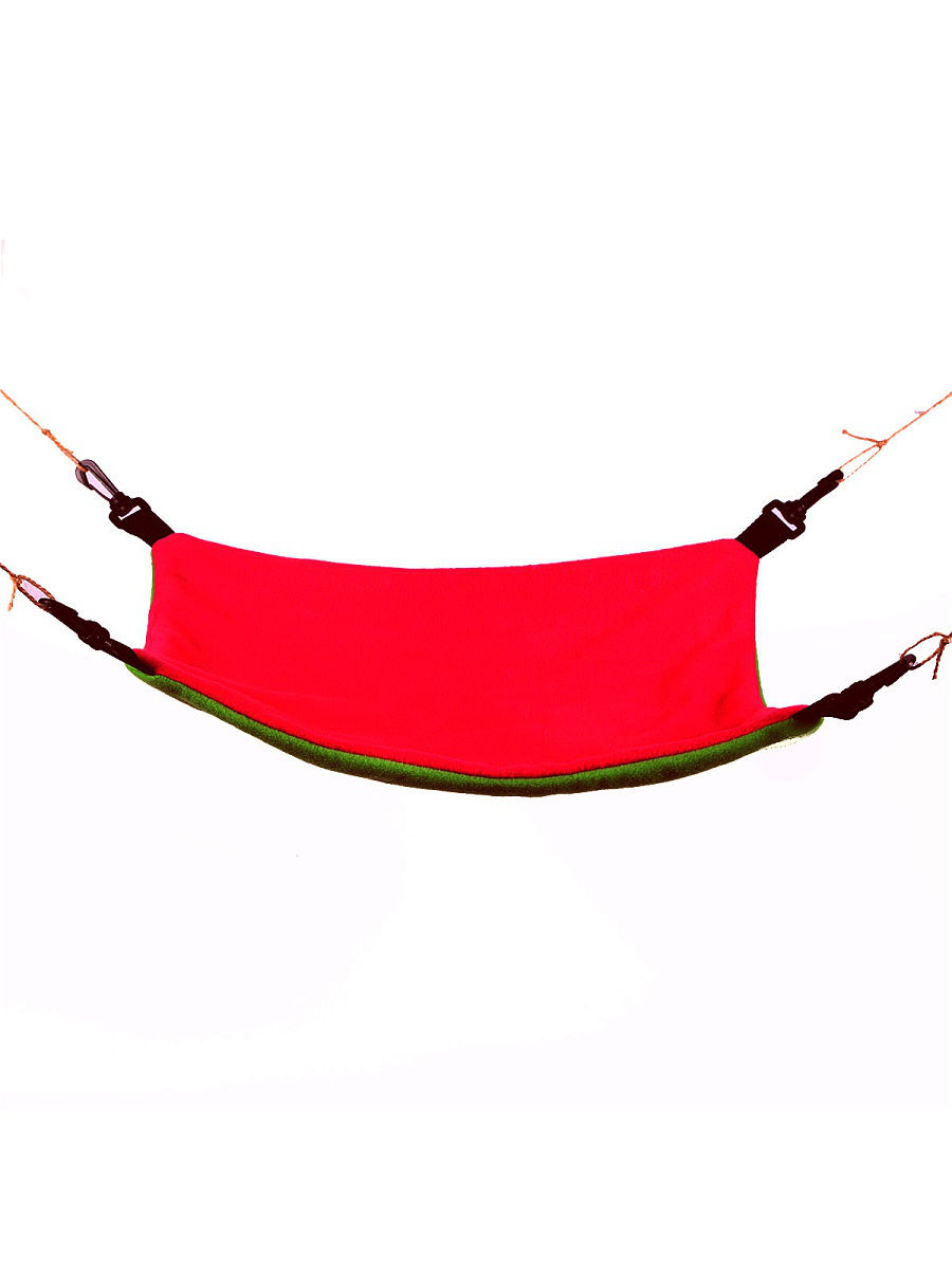 Гамак для хорьков OSSO Fashion, двухсторонний, флис,