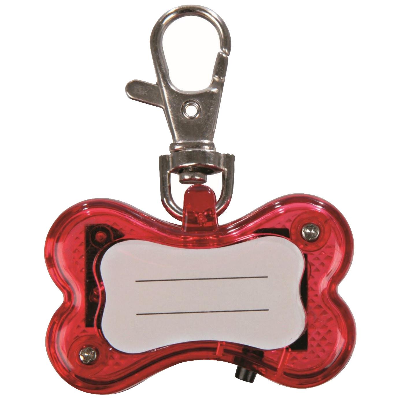 Подвеска маячок для собак TRIXIE Брелок мигающий