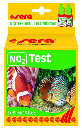 Тест уровня азота, Sera Nitrite Test