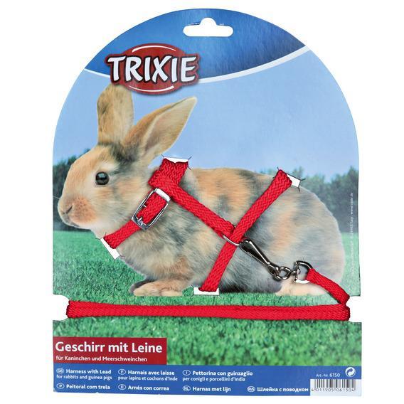 Поводок и шлейка TRIXIE для кроликов,