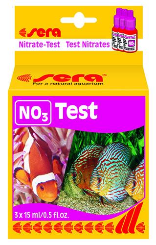 Тест уровня содержания нитратов, Sera Nitrat Test