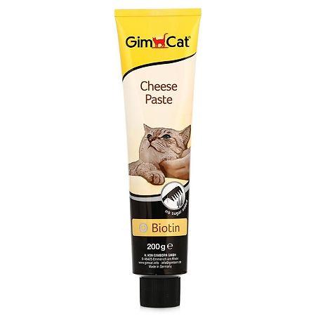 Паста Gimpet сырная с биотином для кошек,