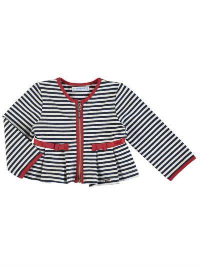 Пиджак для девочек Mayoral цв. разноцветный р.86