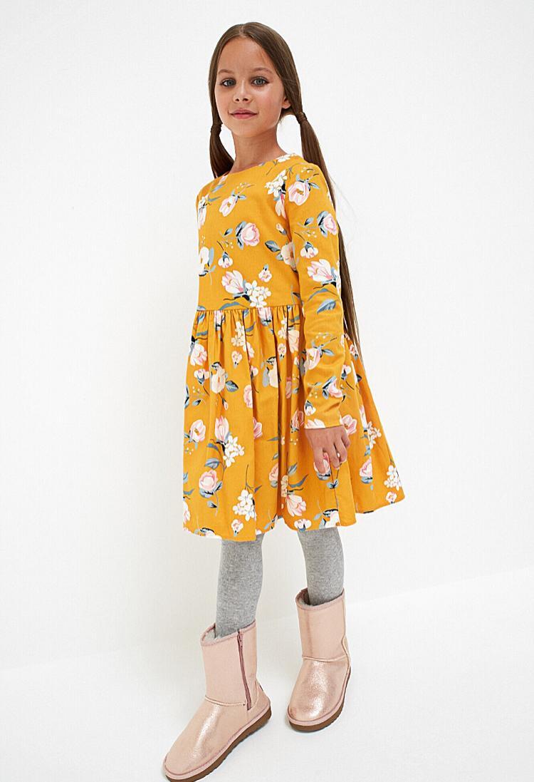 Хлопковое яркое платье с цветочным принтом Acoola 20210200271, р. 134