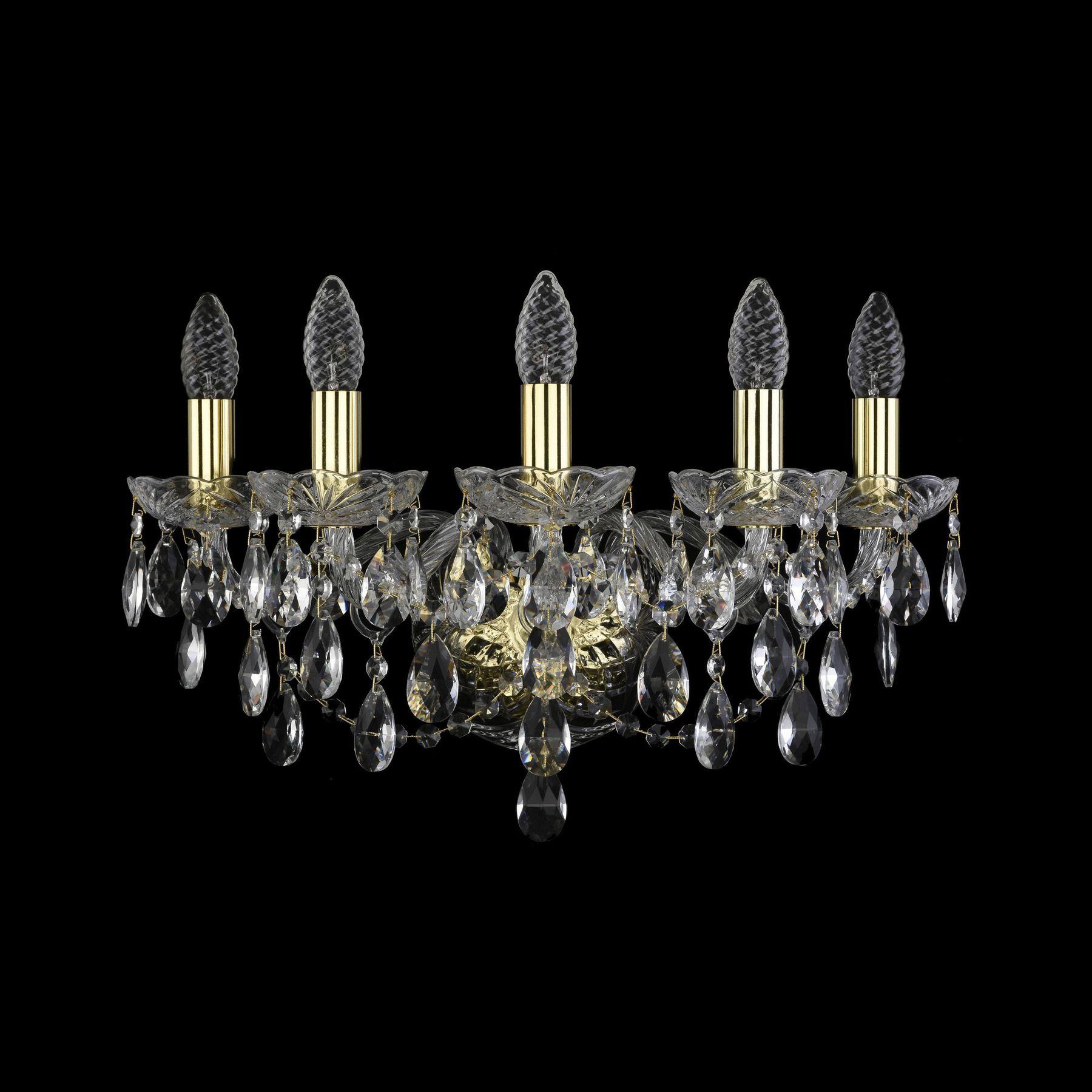 Хрустальное бра 1415B/5/165 G Bohemia Ivele Crystal