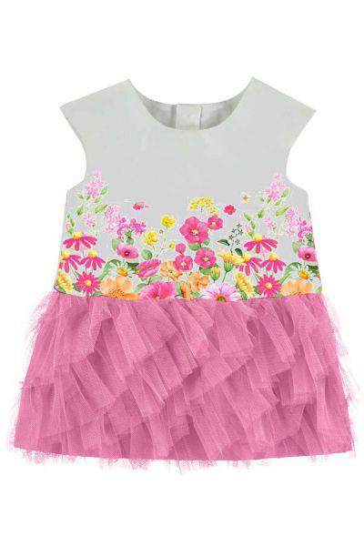 Платье для девочек Mayoral цв. разноцветный р.86