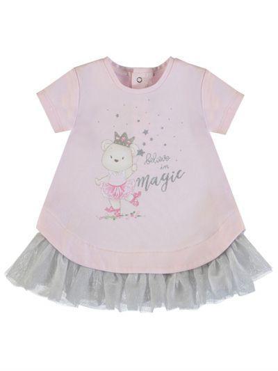 Платье для девочек Mayoral цв. розовый р.80