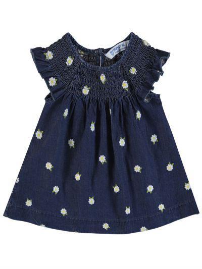 Платье для девочек Mayoral цв. синий р.80