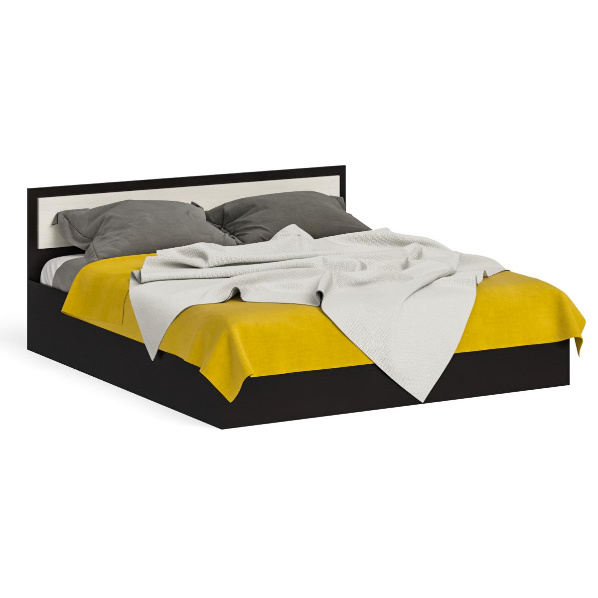 Кровать Фиеста 1800 венге/дуб лоредо, 184х204х80 см