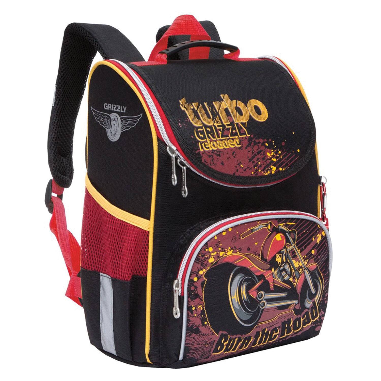 Ранец Grizzly Turbo с сумкой для обуви,