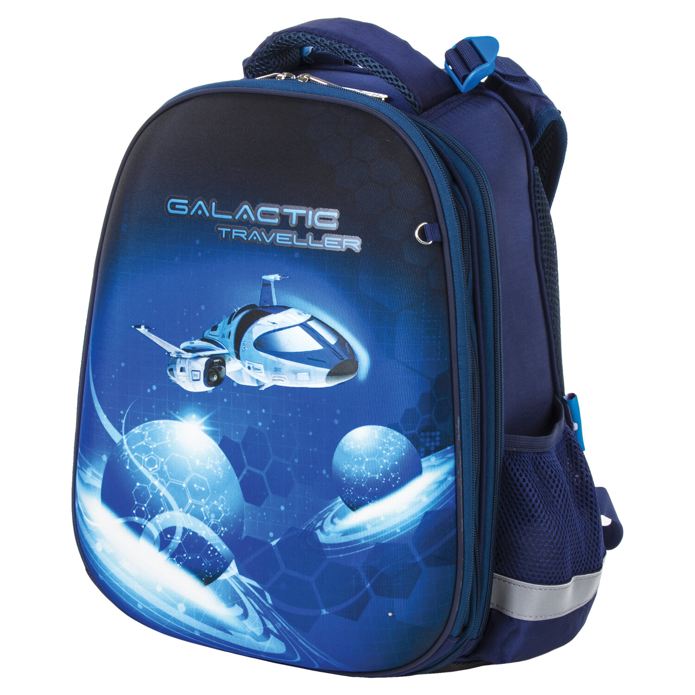 Купить Рюкзак детский Юнландия EXTRA Galactic traveller 38x29x18 см 228801,