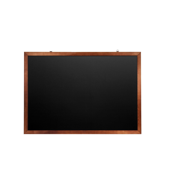 Доска для мела магнитная Brauberg черная, 100х150