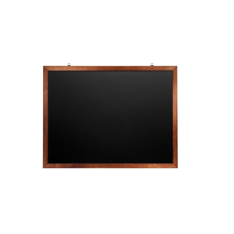 Доска для мела магнитная Brauberg черная, 90х120
