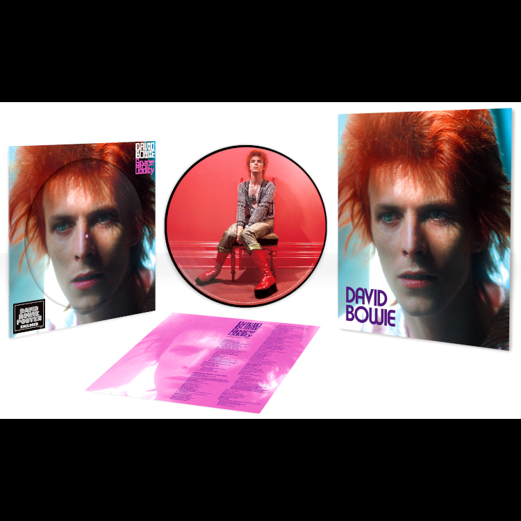 David Bowie Space Oddity (Limited Edition)(Picture Disc)(LP)