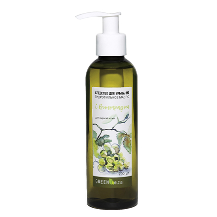 Гидрофильное масло Green Era, «Виноград», 200 мл