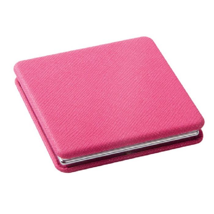 Купить Зеркало Dewal карманное квадратное «Палитра», розовое