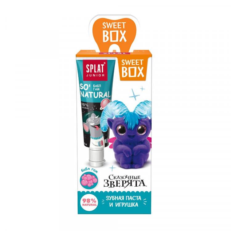 Купить Набор дорожный SweetBox игрушка с пастой Junior Жвачка 20мл, SPLAT