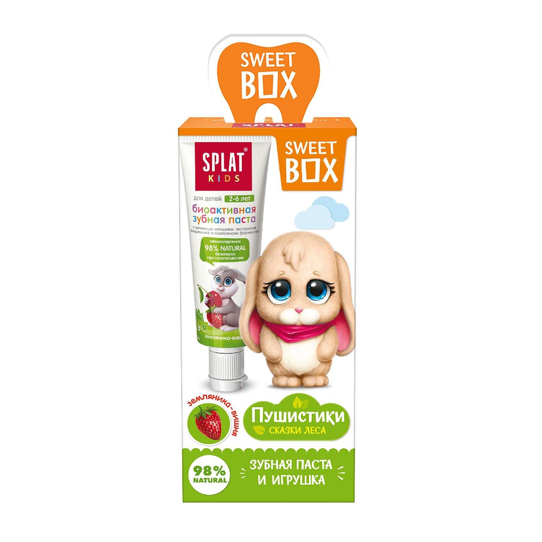 Купить Набор дорожный SweetBox игрушка с пастой KIDS мороженое 20мл, SPLAT