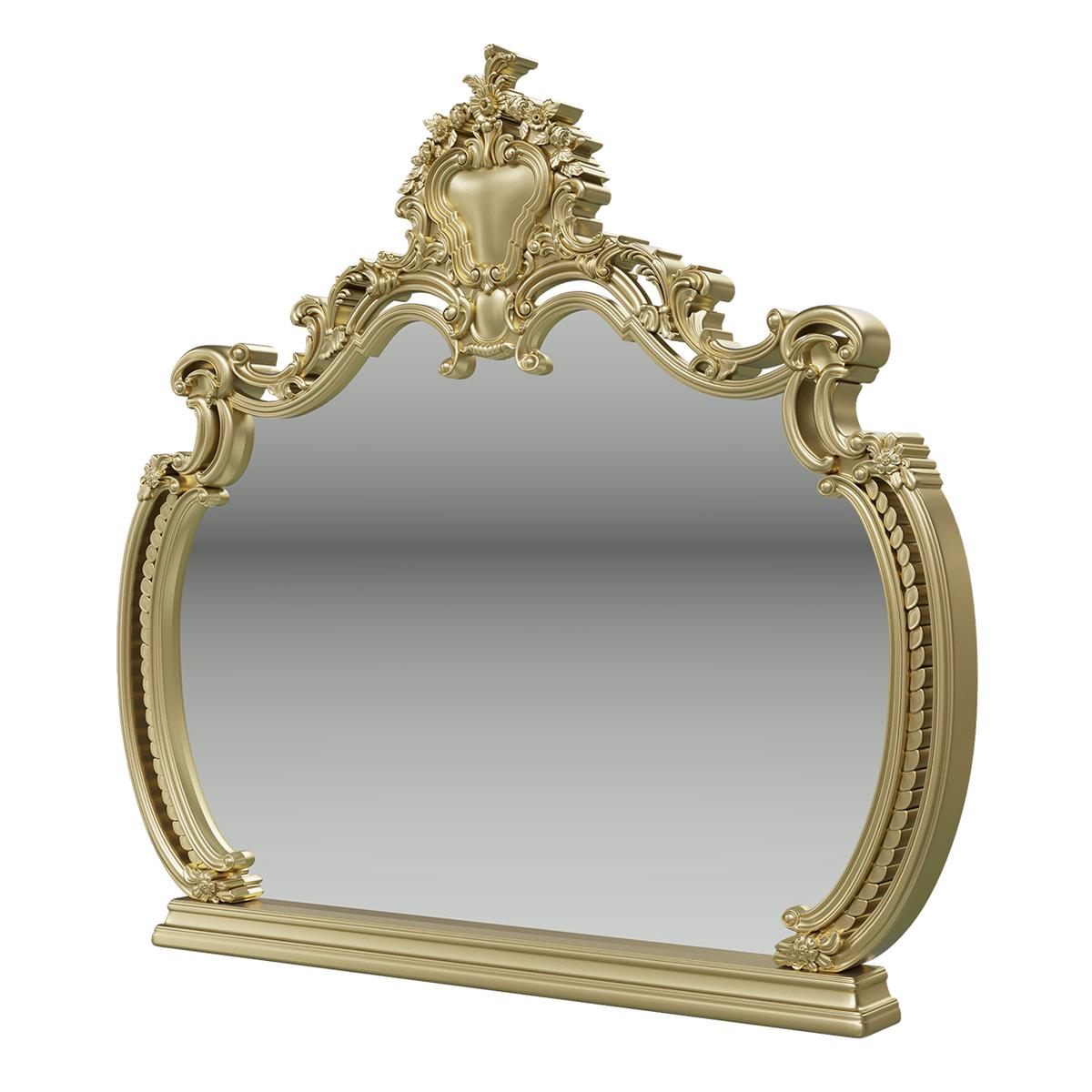 Зеркало Мэри Мебель Шейх СШ 06 слоновая
