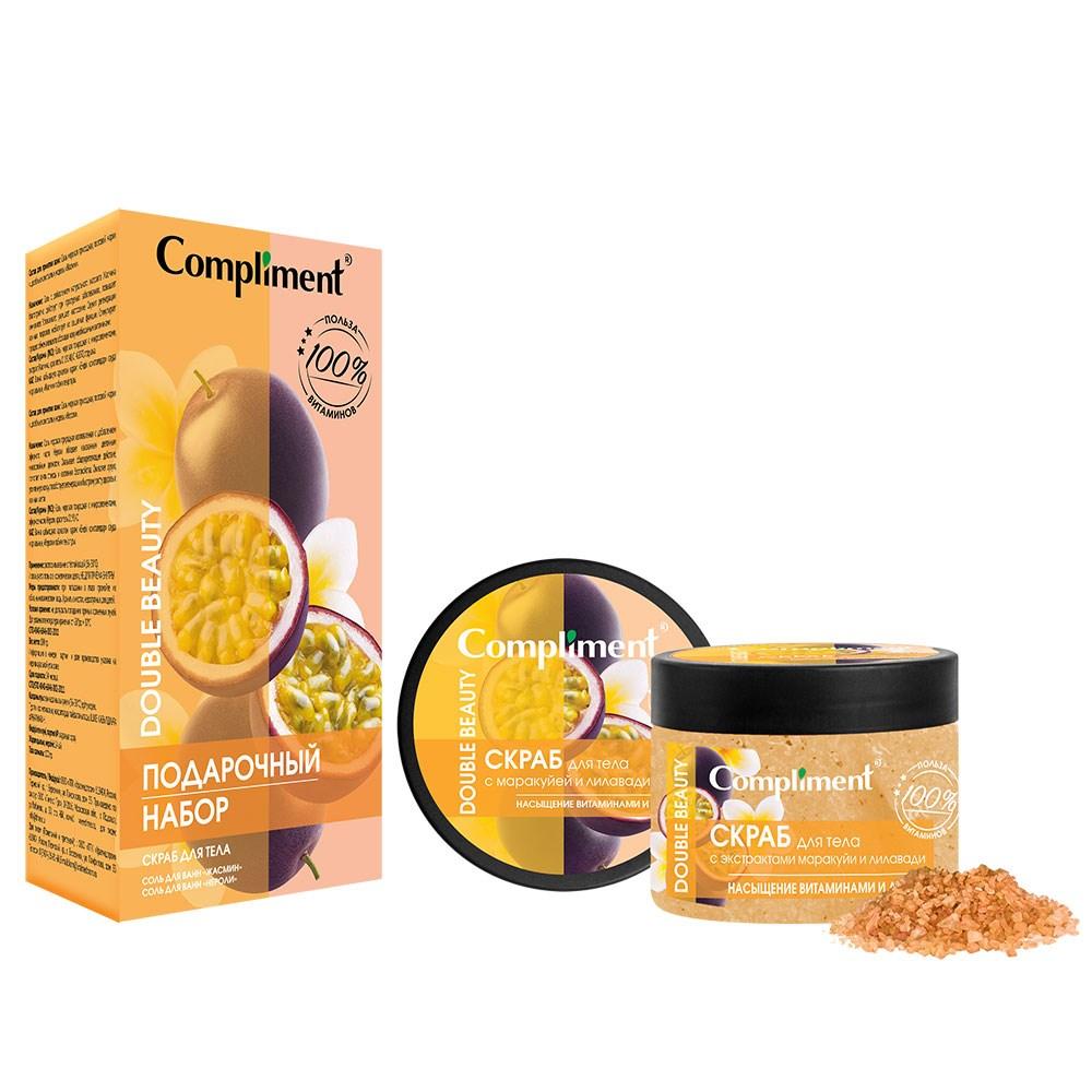 Подарочный набор Compliment Double beauty Насыщение витаминами