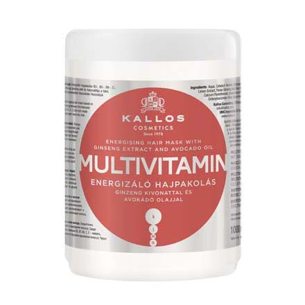 Купить Маска для волос Kallos, Multivitamin, 1000 мл, Kallos Cosmetics