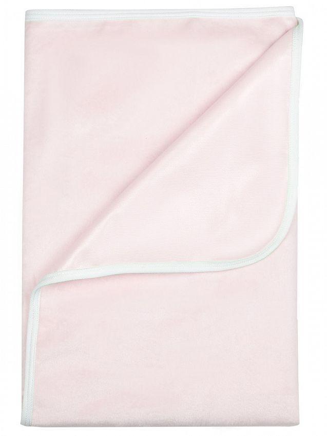 Купить Пелёнка Bamboola непромокаемая, тёплая, для кроватки, из велюра, 60х90 см, Розовый,