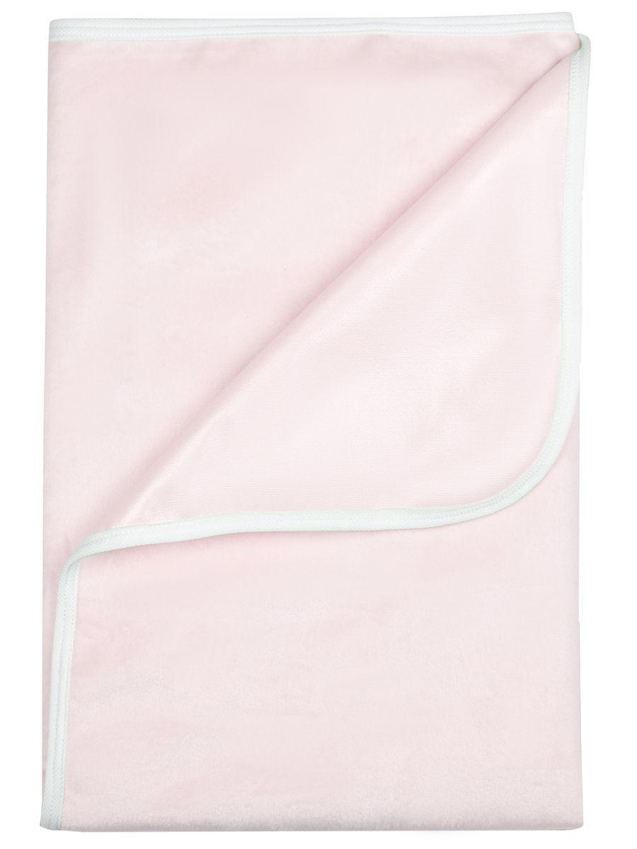 Купить Пелёнка Bamboola непромокаемая, для пеленального столика, из велюра, 75х75 см, Розовый,