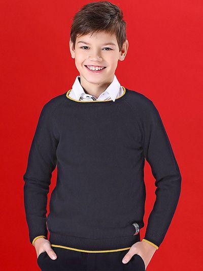 Джемпер для мальчиков Noble People цв. синий