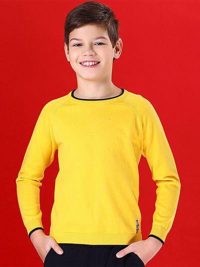 Джемпер для мальчиков Noble People цв. желтый