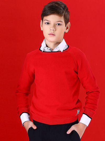 Джемпер для мальчиков Noble People цв. красный
