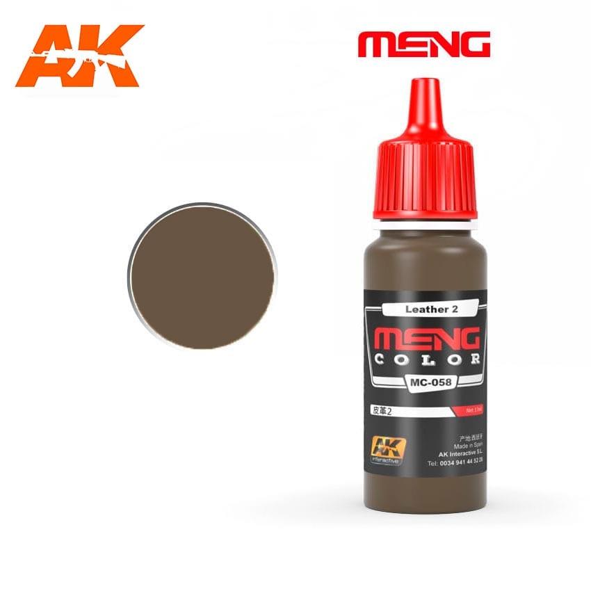 Купить Краска акриловая AK Interactive Leather 2, 17 мл,