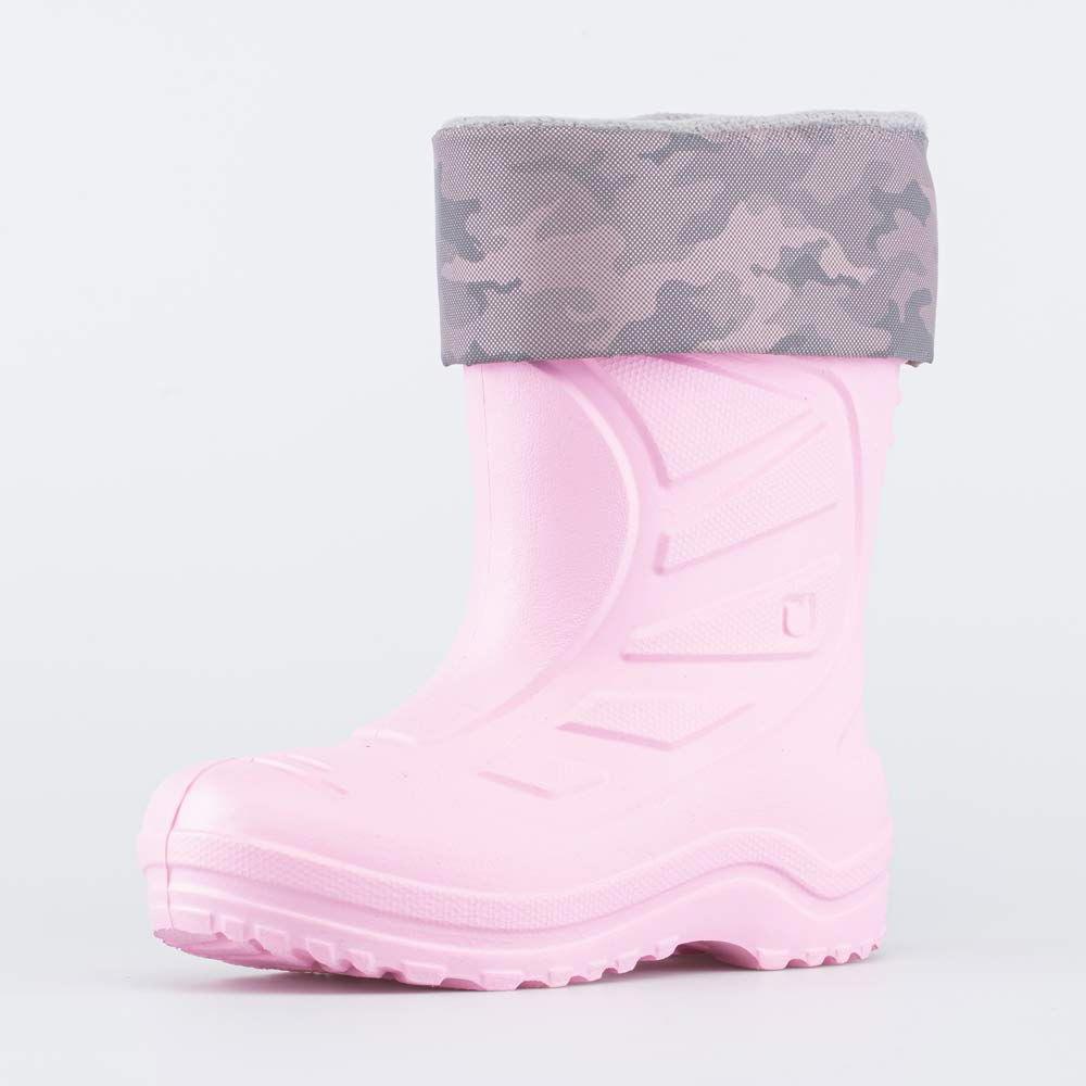 Купить Сапоги резиновые детские Котофей 365145-11 розовый р.26,
