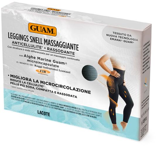 Леггинсы Guam Leggings Snell Massaggiante с массажным эффектом XS-S черный