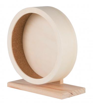 Беговое колесо для грызунов TRIXIE дерево, 22 см
