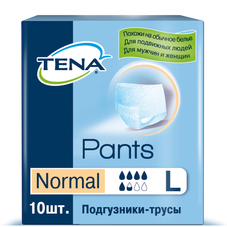 Купить Подгузники для взрослых TENA Pants Normal трусики L 10 шт.