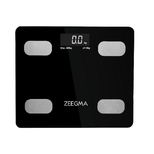 Весы напольные ZEEGMA Gewit Black