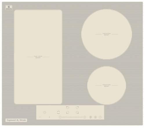 Встраиваемая индукционная панель Zigmund&Shtain CI 34.6 I