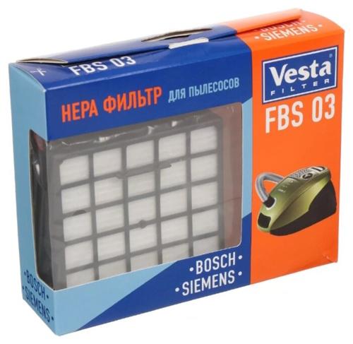 Фильтр для пылесоса Vesta filter HEPA FBS03