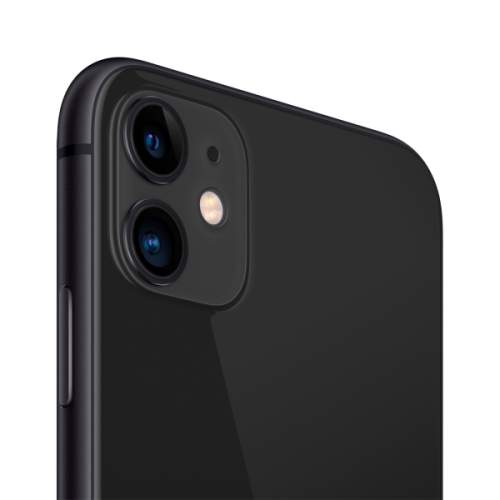 Миниатюра Смартфон Apple iPhone 11 64GB с новой комплектацией Black (MHDA3RU/A) №3