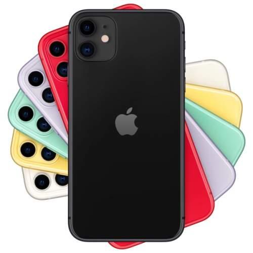Миниатюра Смартфон Apple iPhone 11 128GB с новой комплектацией Black (MHDH3RU/A) №5