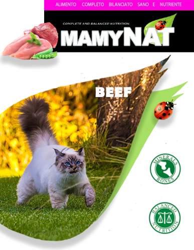 Миниатюра Сухой корм для кошек MamyNAT Cat Adult для взрослых, говядина, 20кг №2